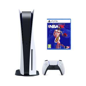 Sony Ps5 Playstation 5 Oyun Konsolu + Ps5 Nba 2K21 (Eurasia Garantili)