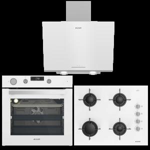 Arçelik Beyaz Buhar Destekli Ankastre Set(9549 CDBD+OCD T 651 EB+ADE 606 B)