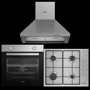 Arçelik Inox Fırsat Ankastre Set (AFM 130 I + OMD D 611 EI + P 27 YI)