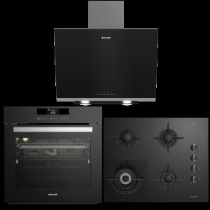 Arçelik Süper Siyah Gurme Set -9670 CTS-OCD T 651 DWS-ADE 606 B