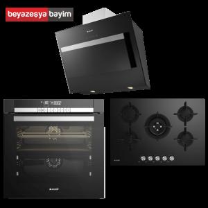 Arçelik Star Siyah Set ( 9784 ZCI + OCD 725 D1WS + P 78 SAYS )