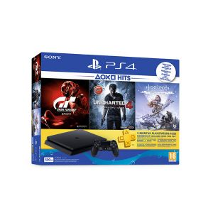 Sony PS4 500GB 3 Aylık PS Plus + GTS UCH4 + HRZN Oyun Konsolu