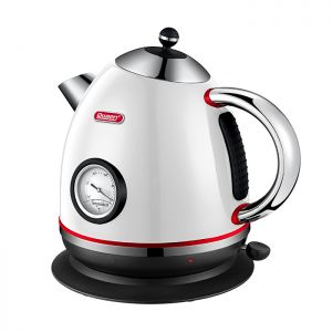 Queen Retro White Kettle Su Isıtıcı